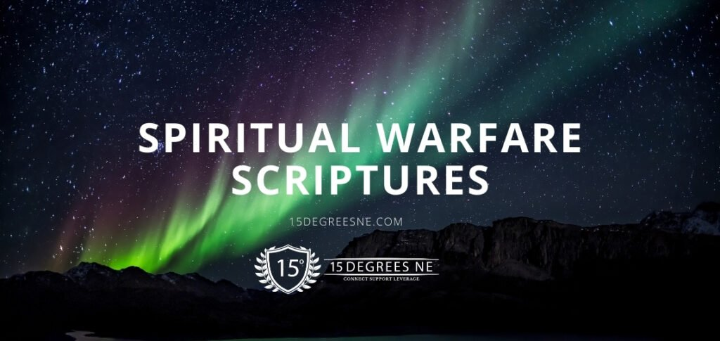 Spiritual warfare Scriptures